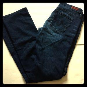 AG ballad bootcut jeans soft dark